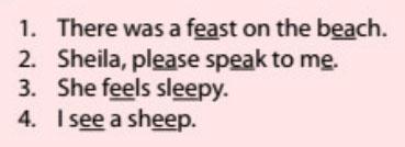 QQ Englishの教材「発音クラス」のレッスンの例文の画像